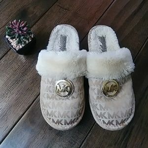 Girls Michael Kors Slippers